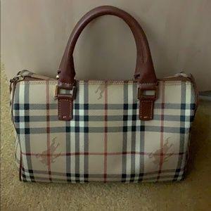 Burberry Bags - Vintage Haymarket Check Speedy PVC Bag Burberry